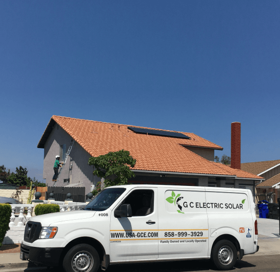 Gc-electric-solar-van